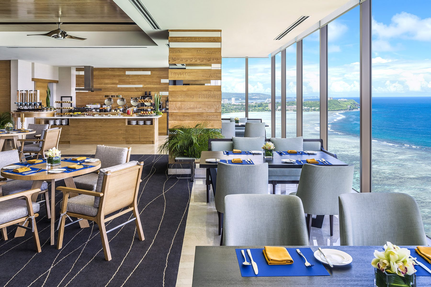 dusit thani guam resort - Breakfast with a view