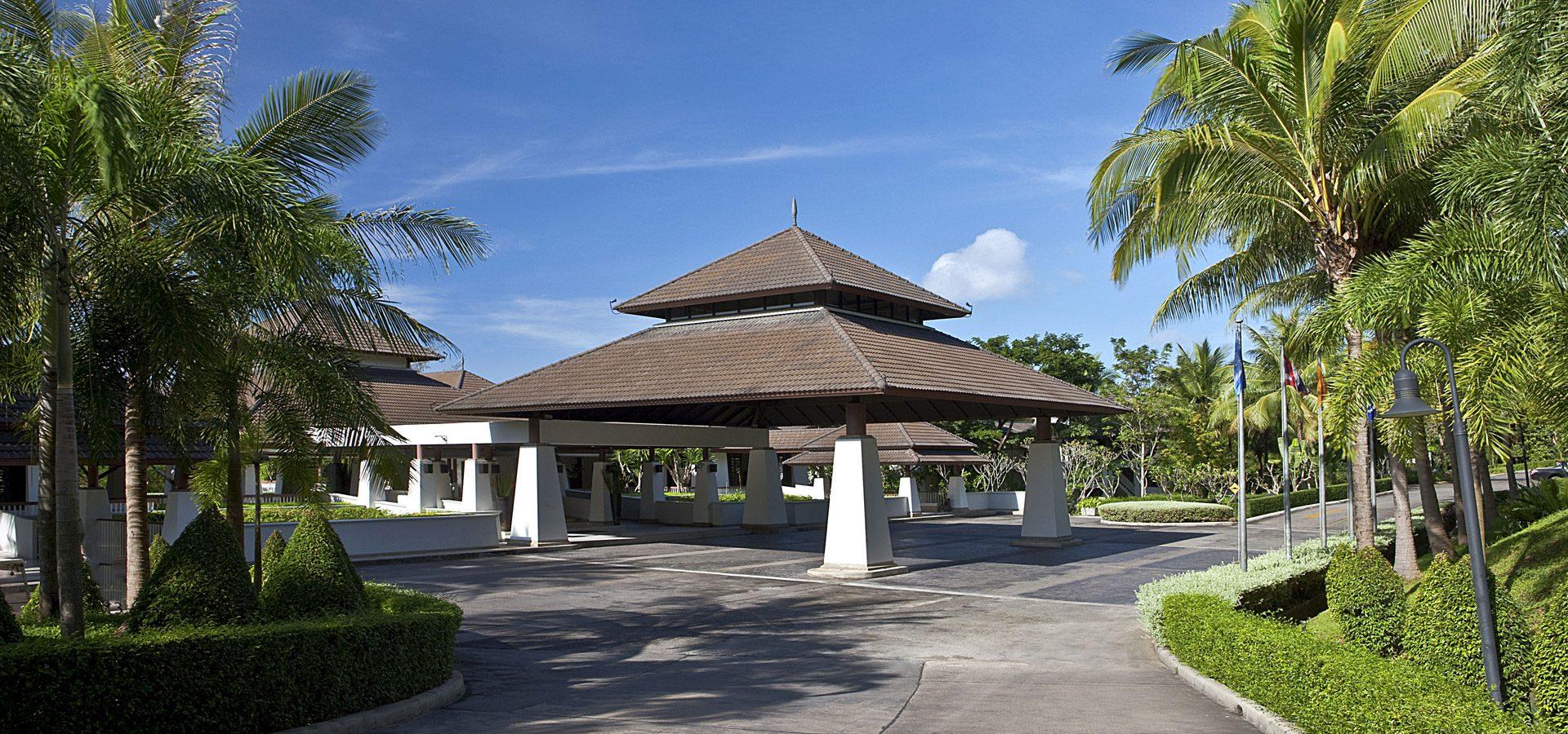 dusit thani krabi beach resort - home-entrance