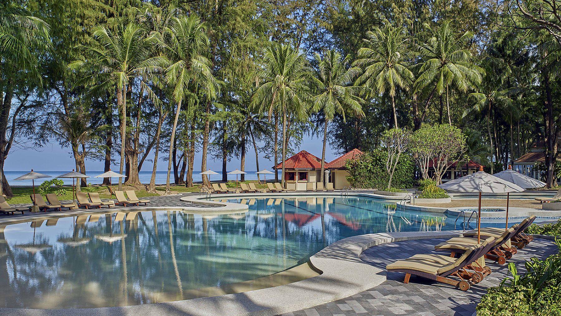 dusit thani laguna phuket - pool day