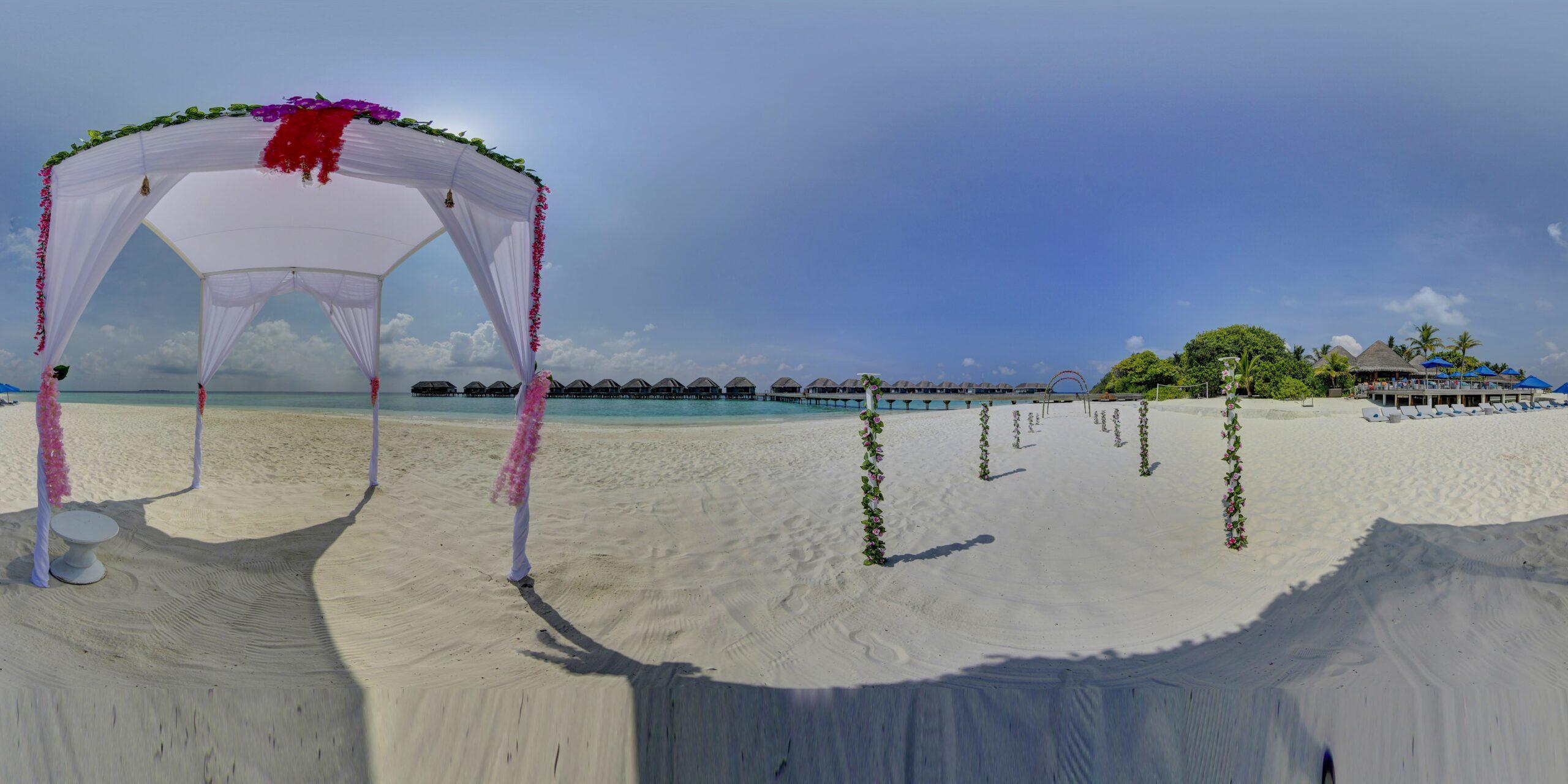 Sand Bar Beach, Wedding Ceremony