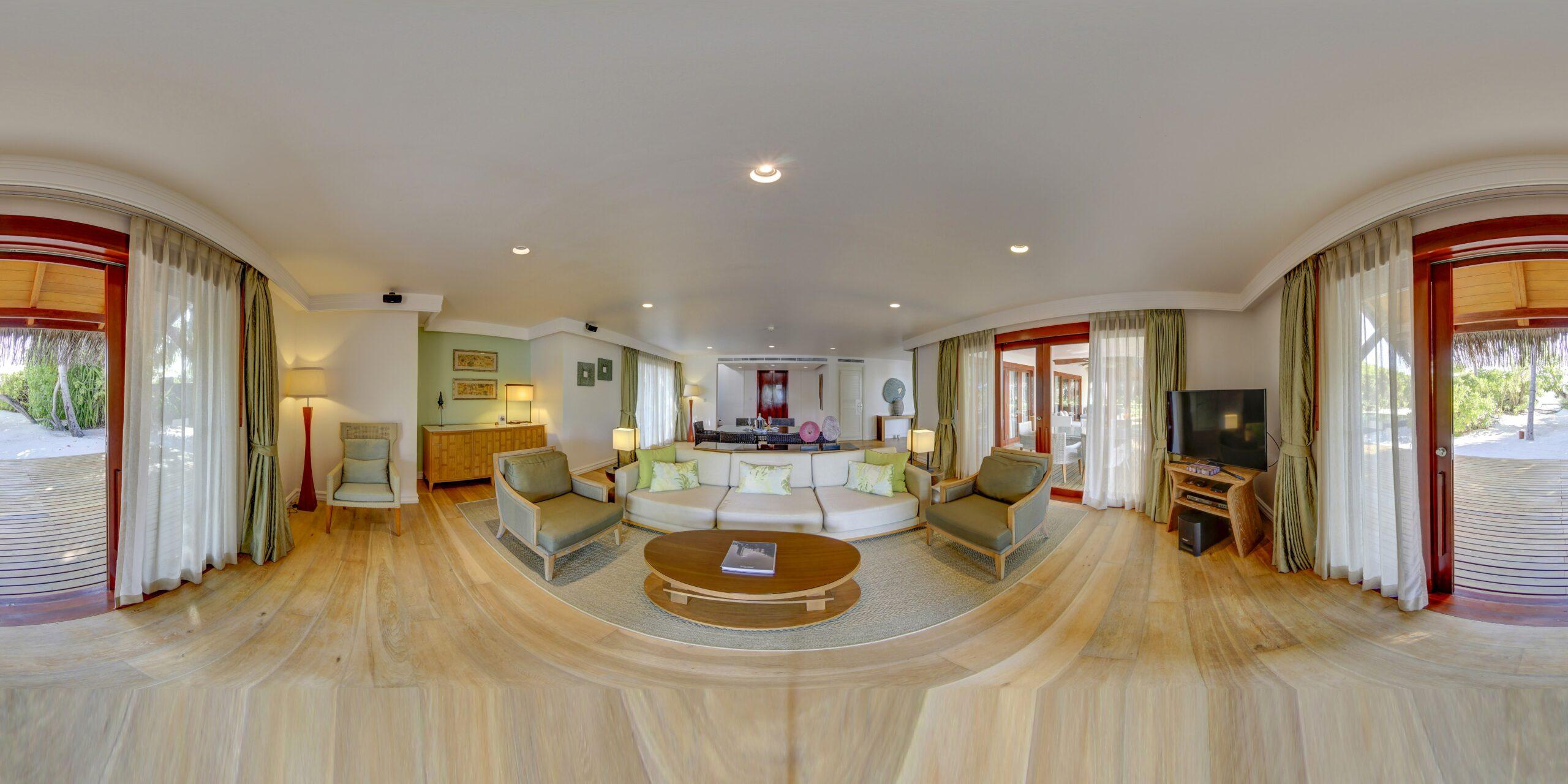 Two Bedroom Beach Residence, 1st floor