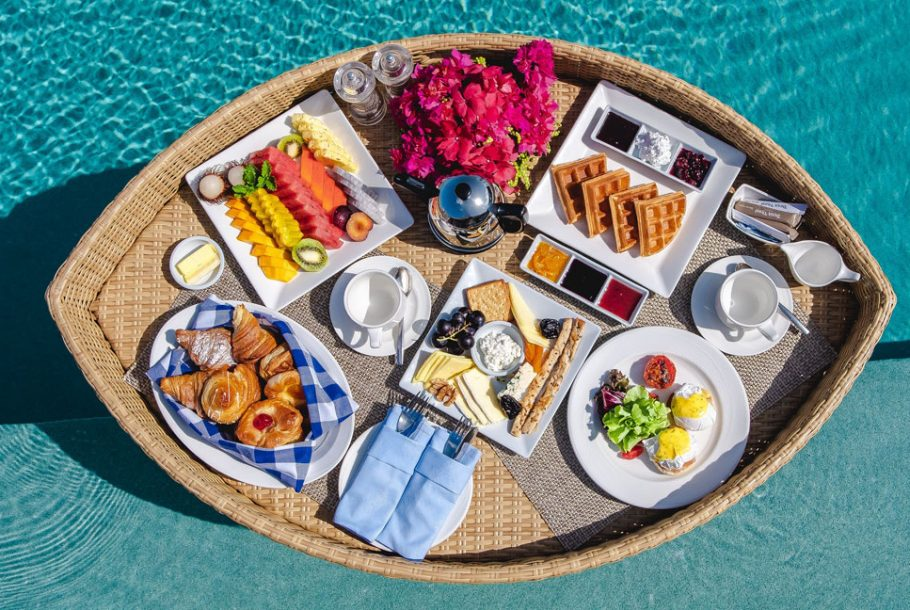 Floating Breakfast with Soft Drinks