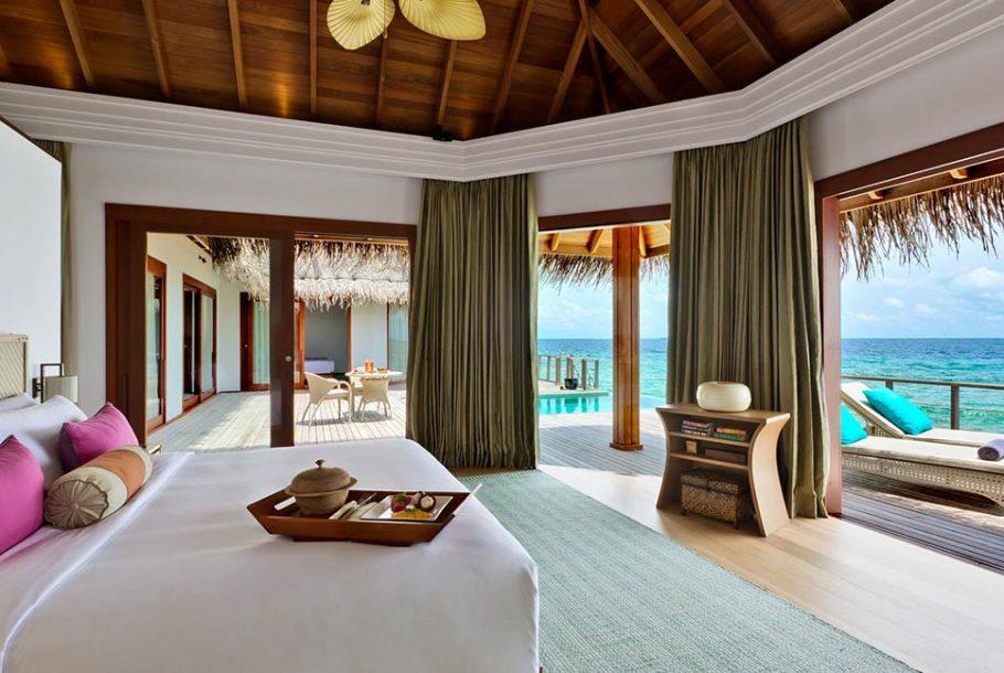 Ozeanpavillon mit zwei Schlafzimmern