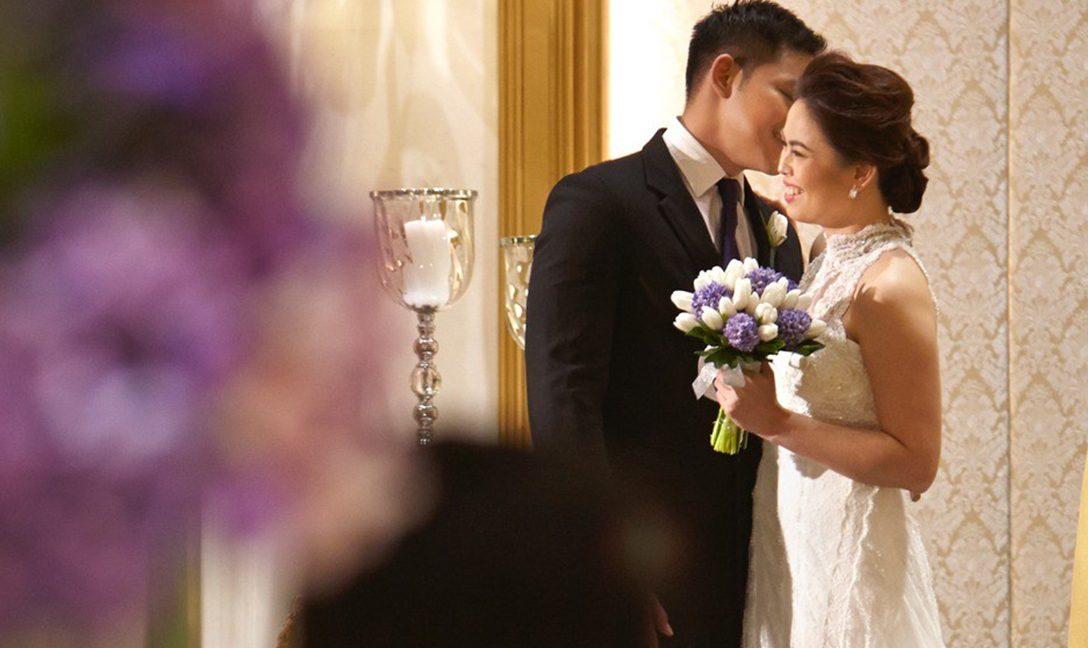 Dusit Thani Manila-wedding-couple-ballroom