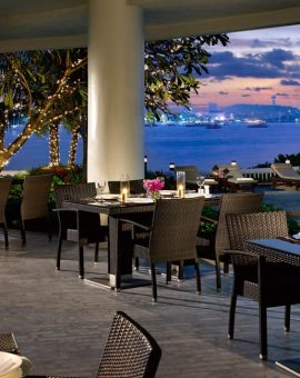 dusit thani pattaya - The Bay International Skewers Restaurant
